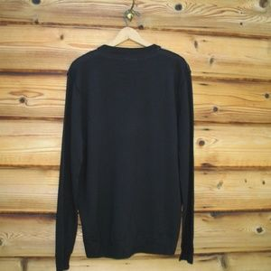 Public Opinion Sweaters - NWT Public Opinion Black Merino Wool Sweater